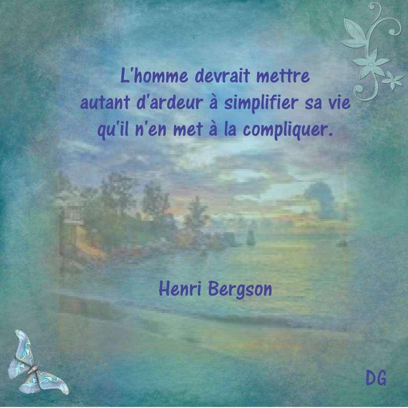 Ardeur Bergson Henri